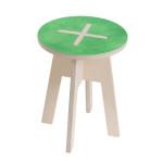 Round chair, green