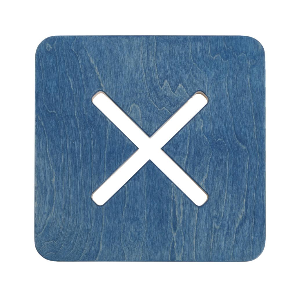 Kandiline tool / taburet, sinine