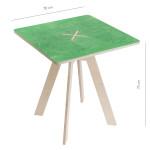 Leiunurk: Kandiline laud, roheline