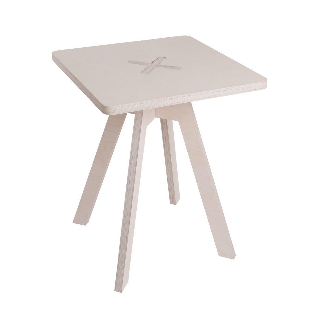Leiunurk: Kandiline laud, valge