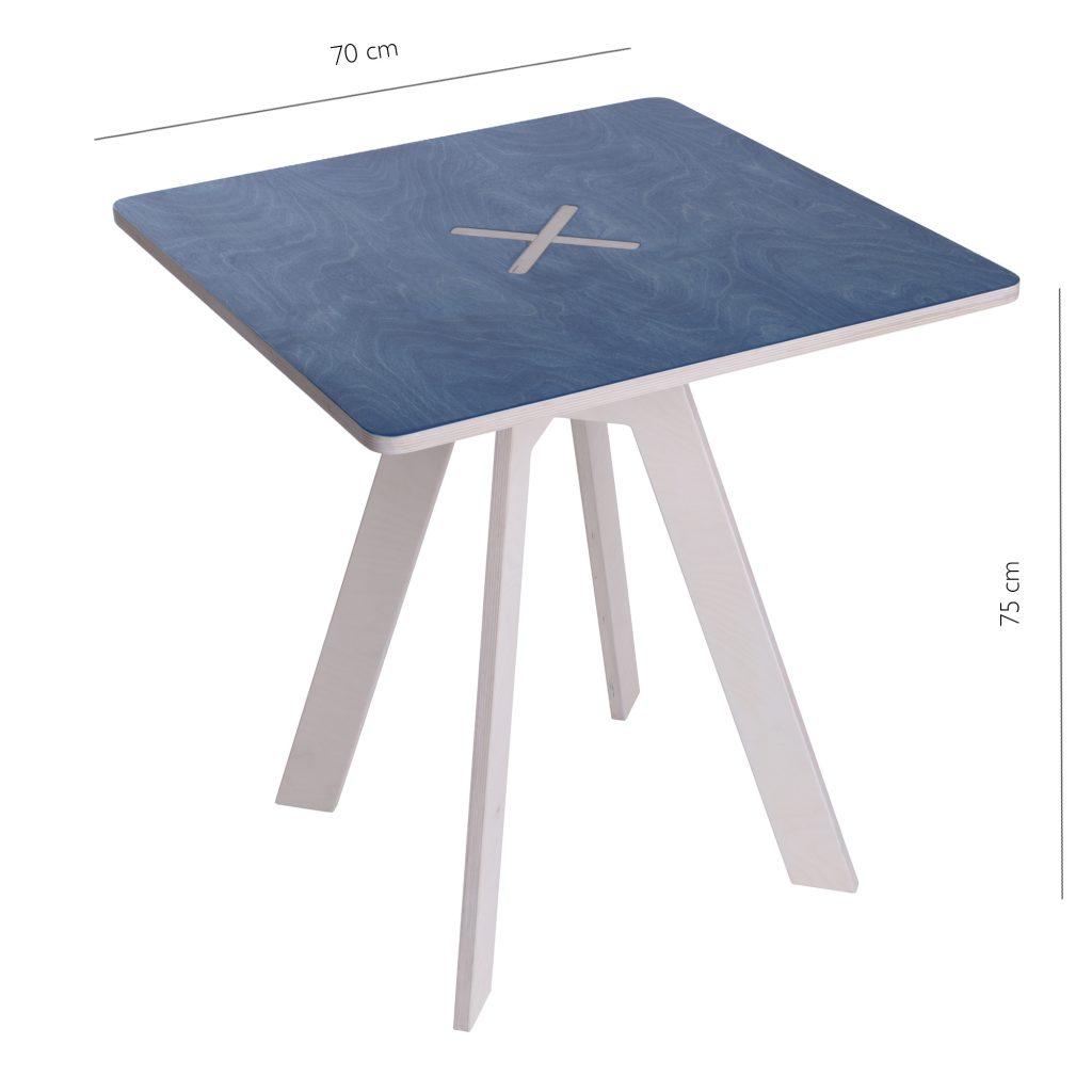 Leiunurk: Kandiline laud, sinine